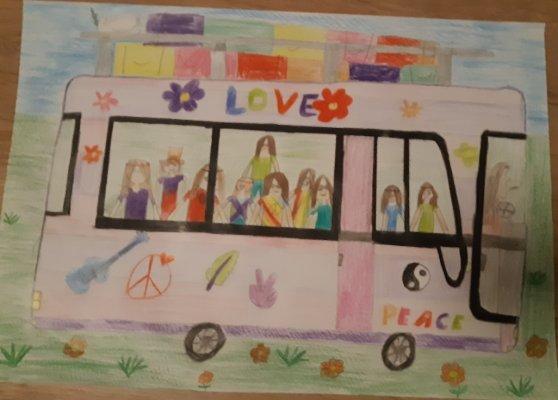 Lena-Arians-Bus